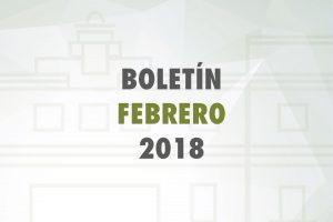 Boletín Febrero 2018