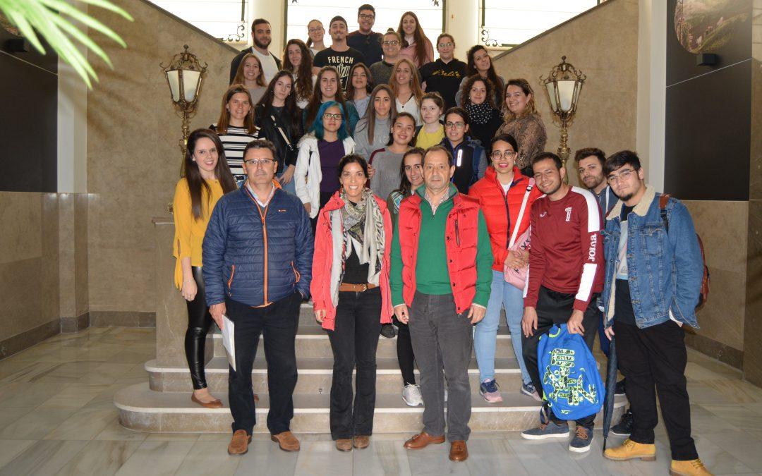 Alumnos de la UEX. Facultad de Educación