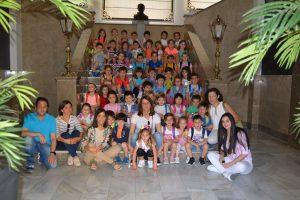 Alumnos 2º de Infantil A y B. Colegio Puente Real