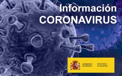 Sigue la información actualizada del COVID-19