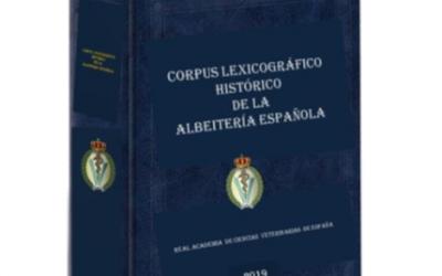 Nueva actualización del Corpus Lexicográfico de la Albeitería Española